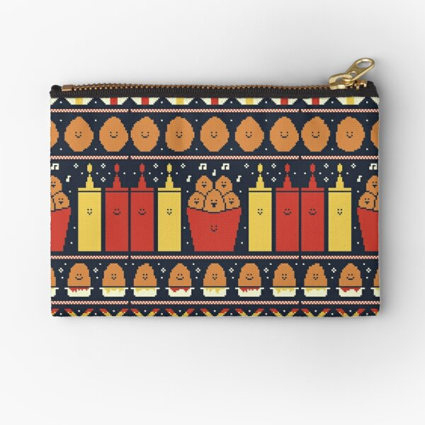 Christmas Nuggets Zipper Pouch