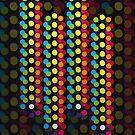 Abstract dots by DinaZaharieva