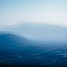Blue Mountain, Series: Blurred Lines by hausofsilva