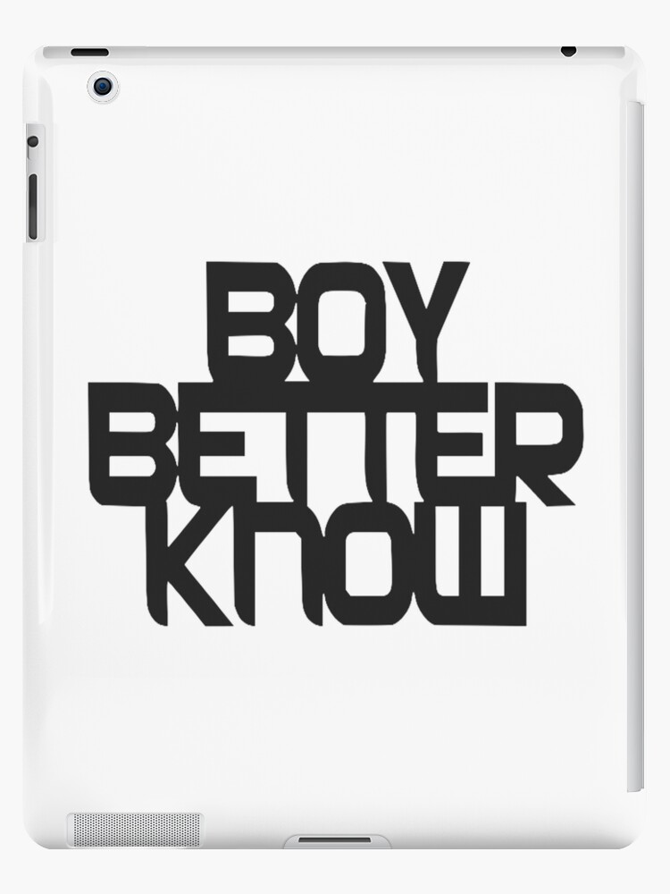 BOY BETTER KNOW by Hman52