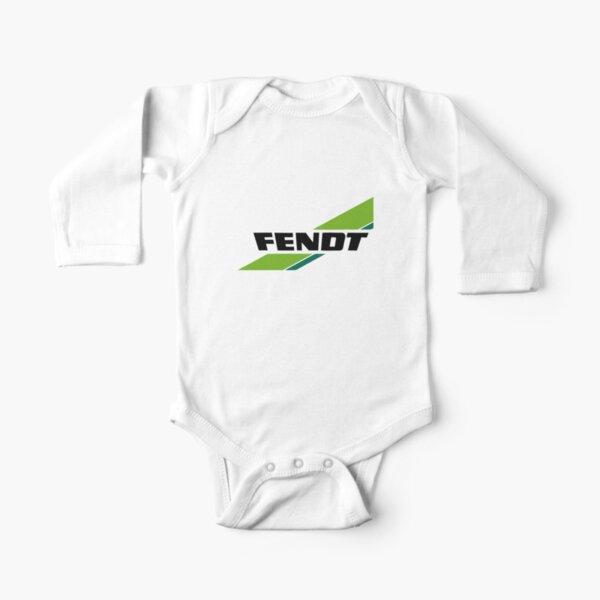 Logo von Fendt Traktoren Baby Body Langarm