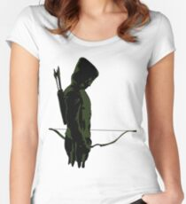 Green Arrow - Oliver Queen Women's Fitted Scoop T-Shirt