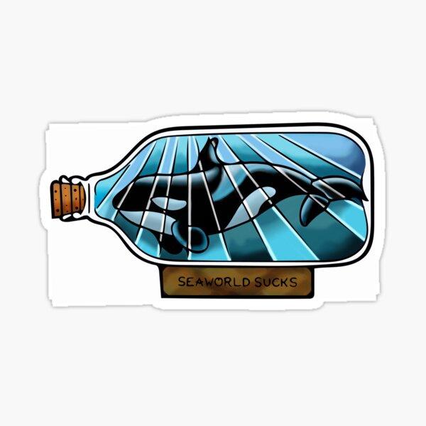 SeaWorld saugt Sticker
