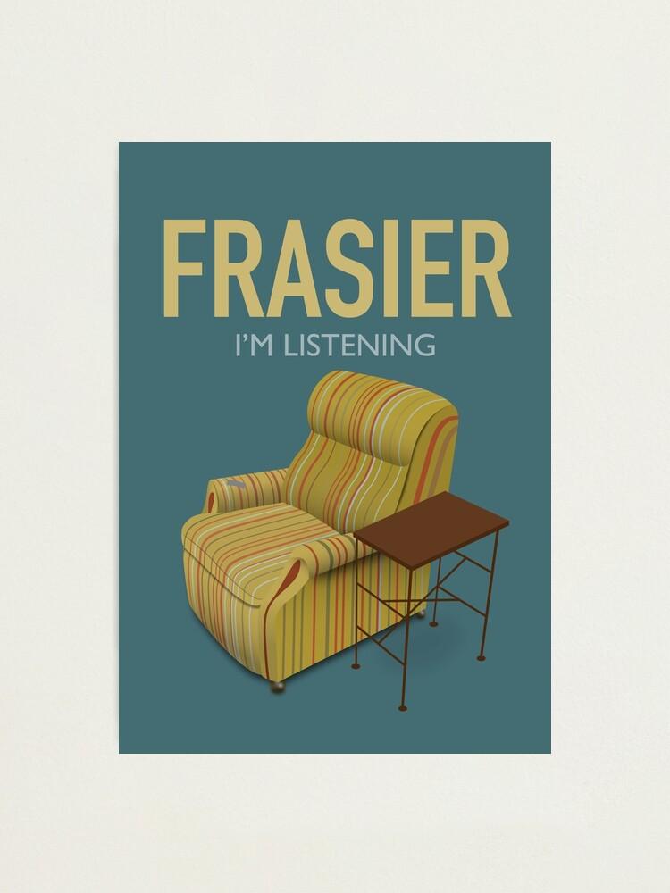 Alternate view of Frasier TV Series Poster  Photographic Print