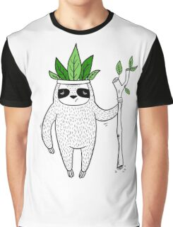 King of Sloth Graphic T-Shirt