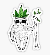 King of Sloth Sticker