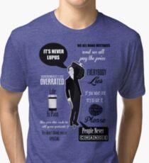 Dr House Montage  Tri-blend T-Shirt