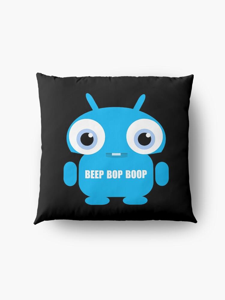 Alternate view of Beep Bop Boop Floor Pillow