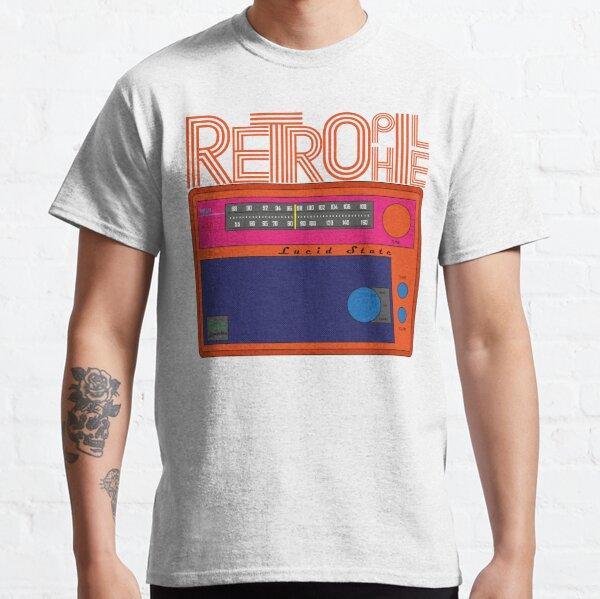 Retrophile radio pop art Classic T-Shirt
