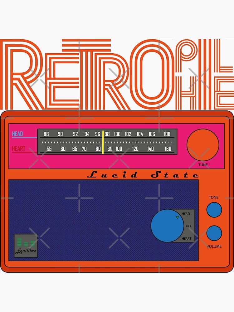 Retrophile radio pop art by a-golden-spiral