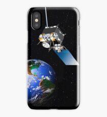 The GOES-N spacecraft in orbit.  iPhone Case/Skin