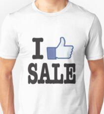 I Love Sale - I Like Sale Unisex T-Shirt