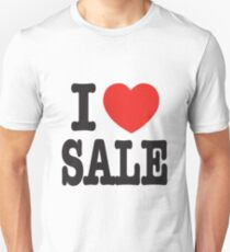 I Love Sale - Shopping Unisex T-Shirt