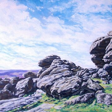 Hound Tor, Dartmoor by BarnabyEdwards