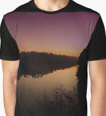 Morning on Catawba River Graphic T-Shirt