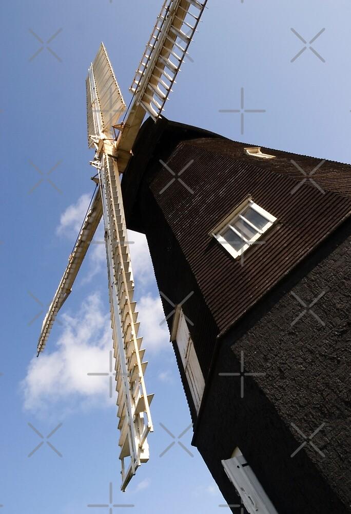 Sarre Windmill by Geoff Carpenter