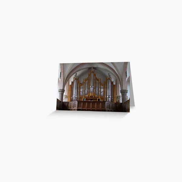 Orgel Martin Luther Kirche, Detmold Deutschland Grußkarte