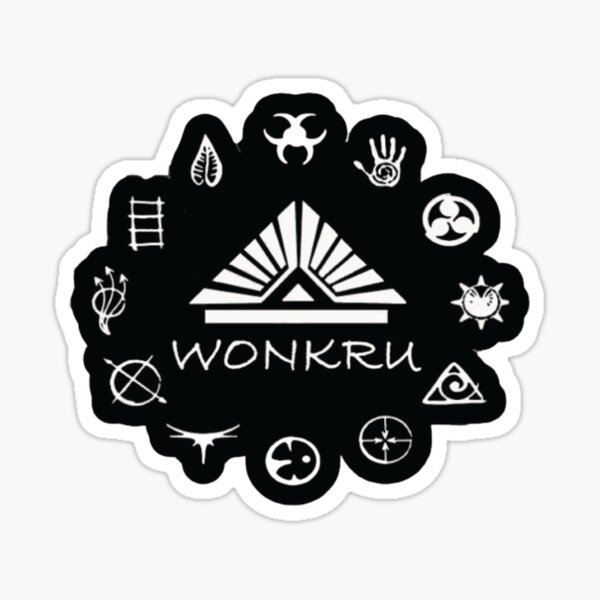 Wonkru mask essential  Sticker