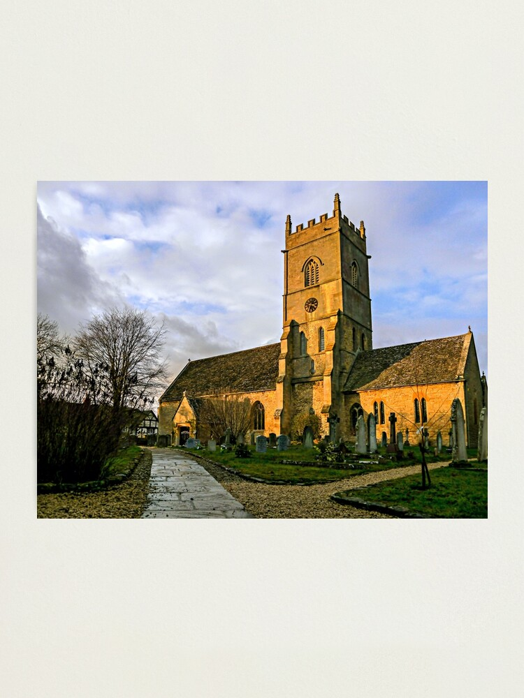Alternate view of Beckford Church Photographic Print