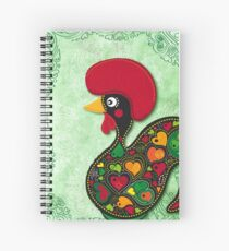 The Rooster Of Barcelos Spiral Notebook