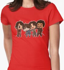 The Mini Musketeers  Women's Fitted T-Shirt