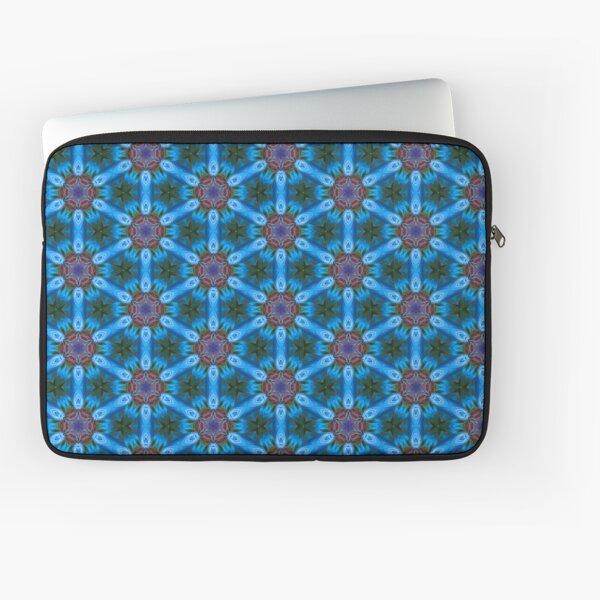 Pattern retro blue Laptop Sleeve