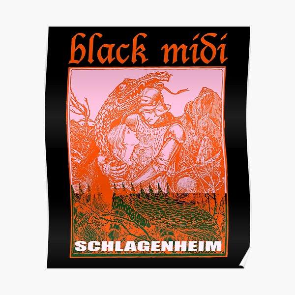 Black Midi Schlagenheim Poster