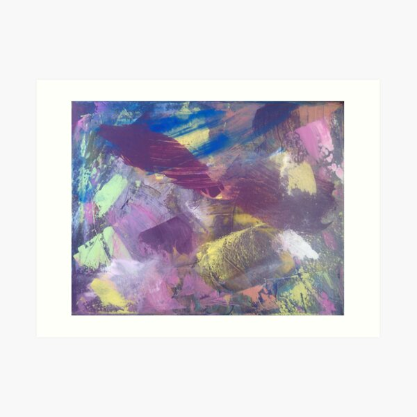 Abstract Multicolor Art Print