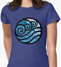 Waterbending - Avatar the Last Airbender Womens Fitted T-Shirt