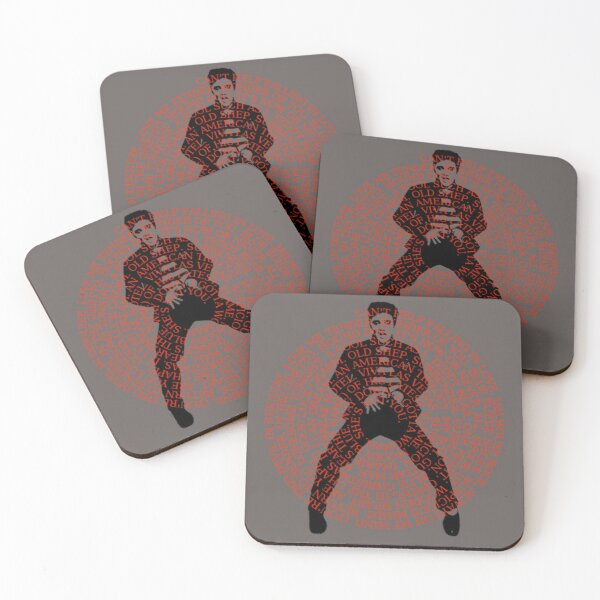 The King Of Rock Roll Coasters (Set of 4)