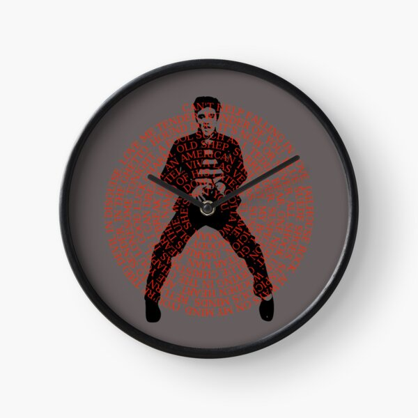 The King Of Rock Roll Clock