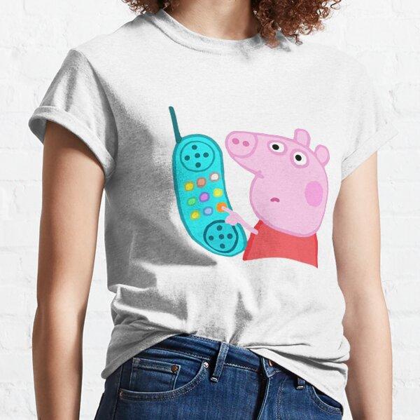 Pepa pig phone  Classic T-Shirt