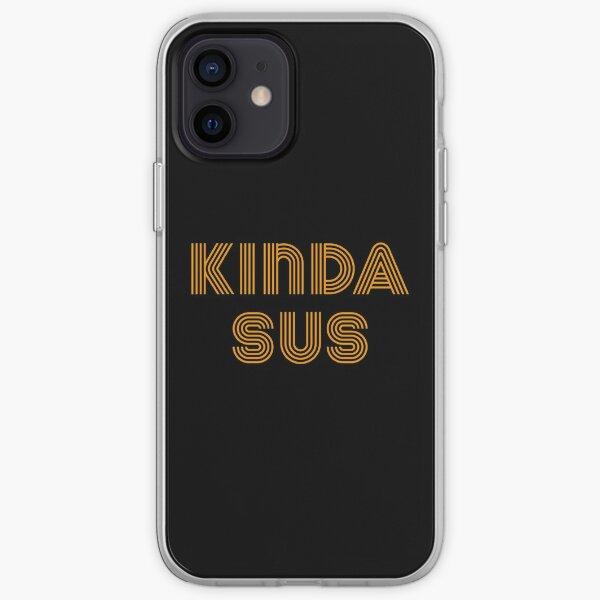 Among Us Kinda Sus Funda blanda para iPhone