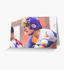 Marianne Vos (Rabobank - Liv/Giant) Greeting Card