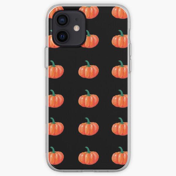 Pumpkin Print (Structured 2) iPhone Soft Case