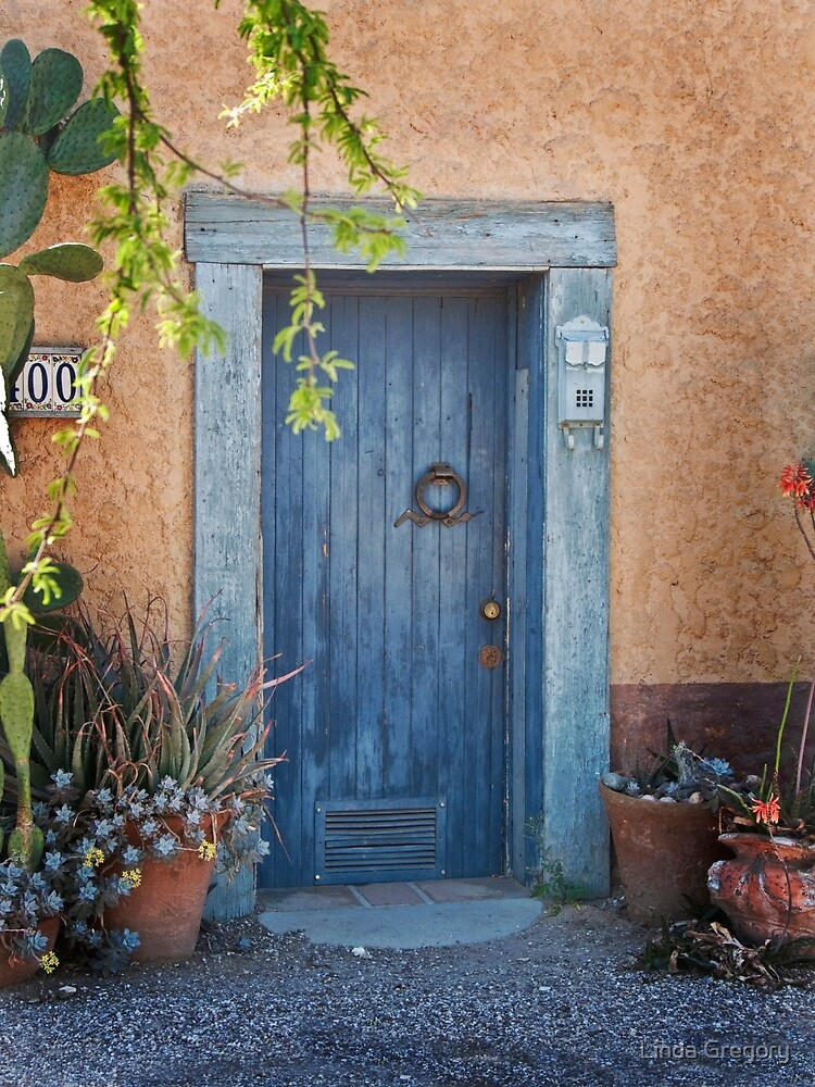 Elysian Grove Market Door by Linda Gregory