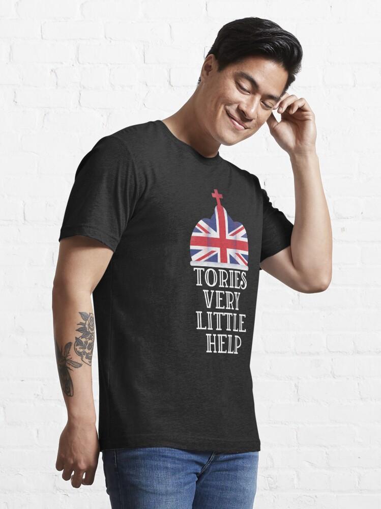 Alternate view of Tories very little help  Essential T-Shirt