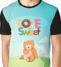 Love is Sweet Graphic T-Shirt