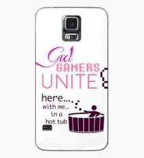 Girl Gamers Unite Case/Skin for Samsung Galaxy