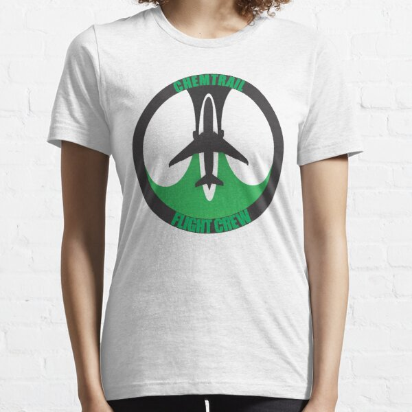 Model 64 - Chemtrail Flight Crew Essential T-Shirt