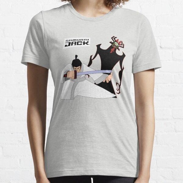 Samurai Jack™ with  Aku  Essential T-Shirt