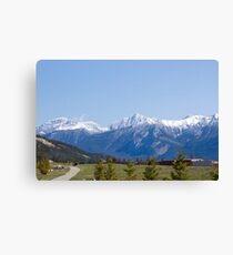 The Mountains of Jasper 4 Canvas Print