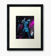 Mr Lordi Live Framed Print