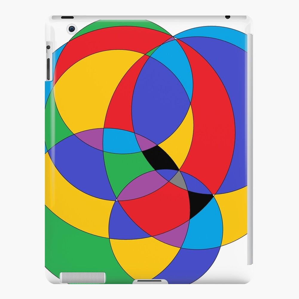 Circle - 2D shape iPad Case & Skin