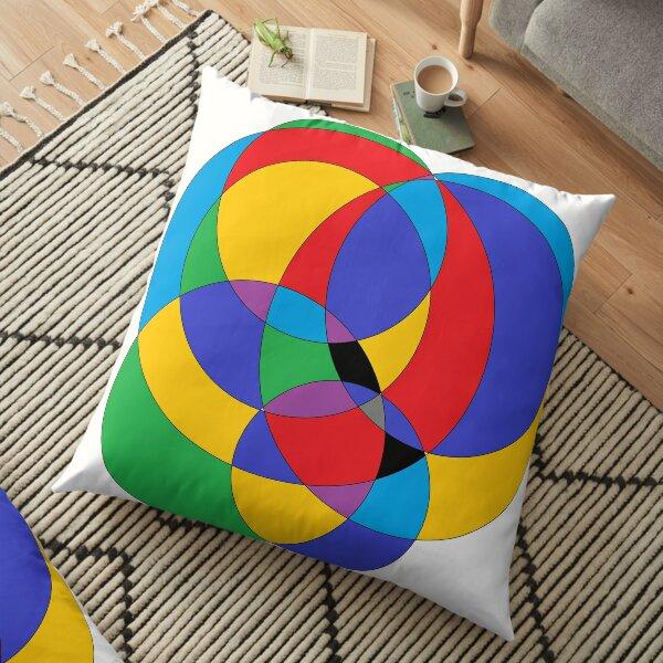 Circle - 2D shape Floor Pillow