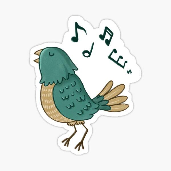 Singing bird Sticker