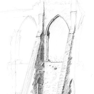 Bayham Abbey, Kent by BarnabyEdwards