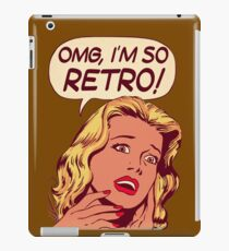 retro classic iPad Case/Skin