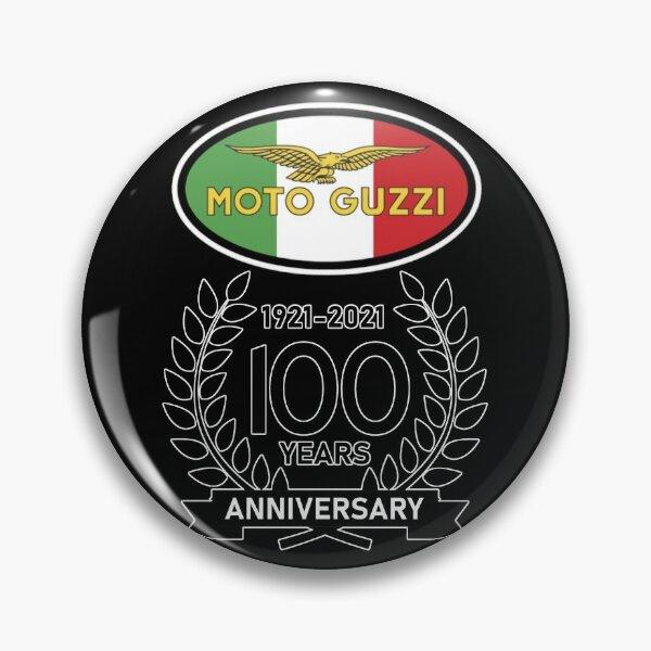 Moto Guzzi 100th Anniversary Celeration Italian Flag Pin