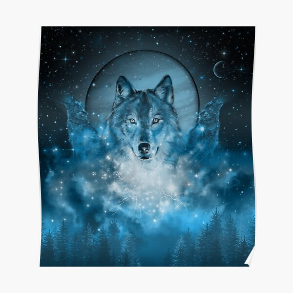 Wolf Wallpaper Posters Redbubble